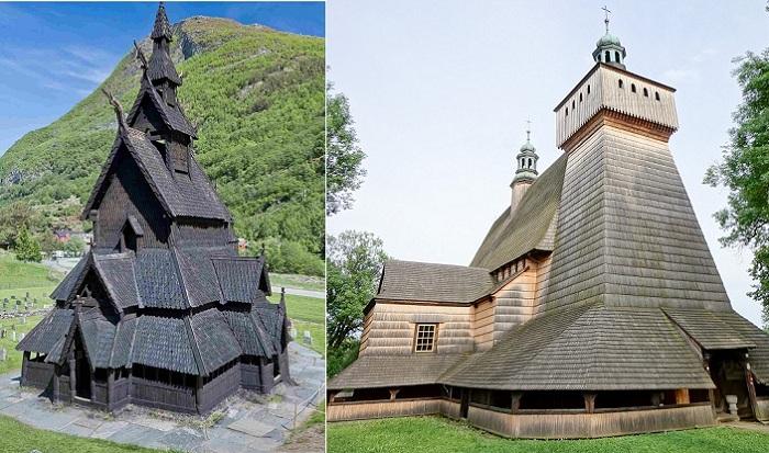 Древнее наследие деревянного зодчества: уникальные европейские церкви, построенные без единого гвоздя