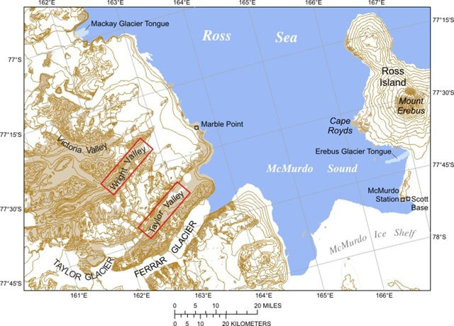 Сухие Долины в Антарктике: самое сухое место на Земле