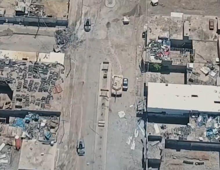 Уничтожение иракского танка Abrams джихадмобилем