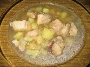 Картофельный суп по-восточному
