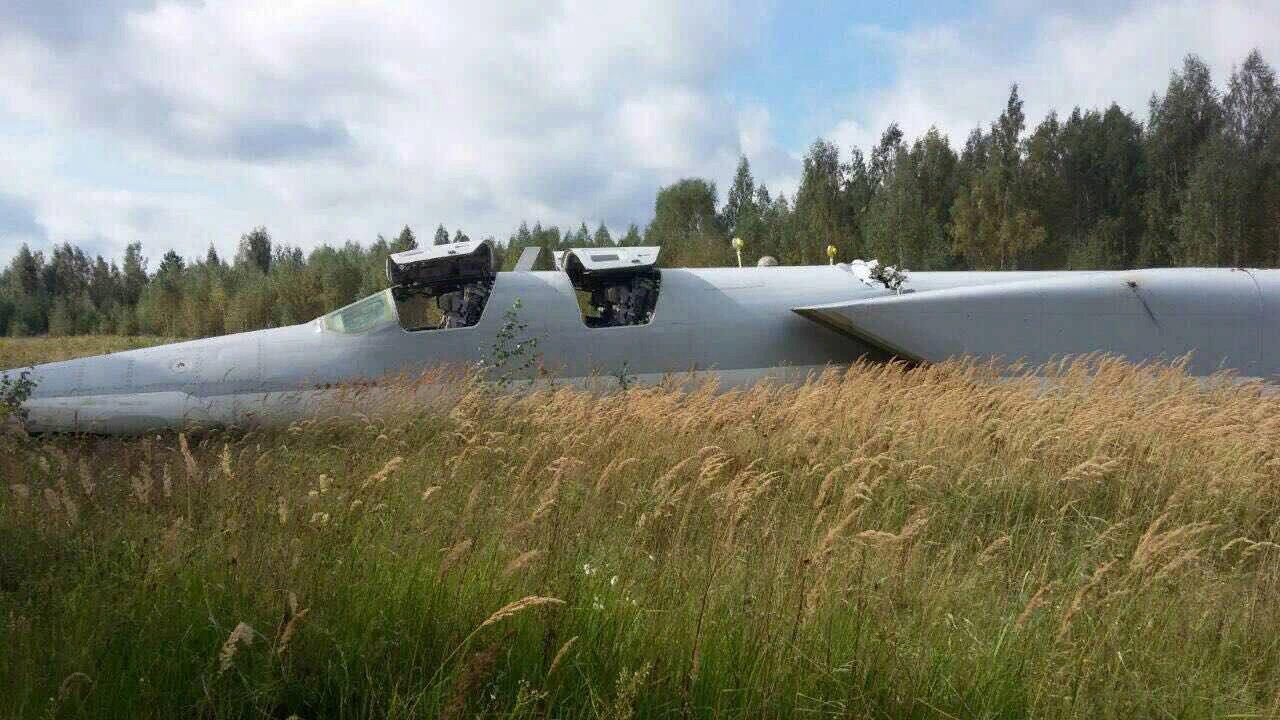 Авария бомбардировщика Ту-22М3 в Шайковке