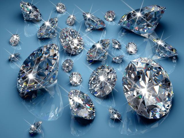 Лучшие друзья девушек — это бриллианты