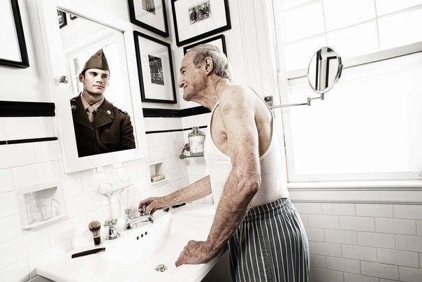 Зеркало помнит - фотопроект Tom Hussey. Трогательно... 1