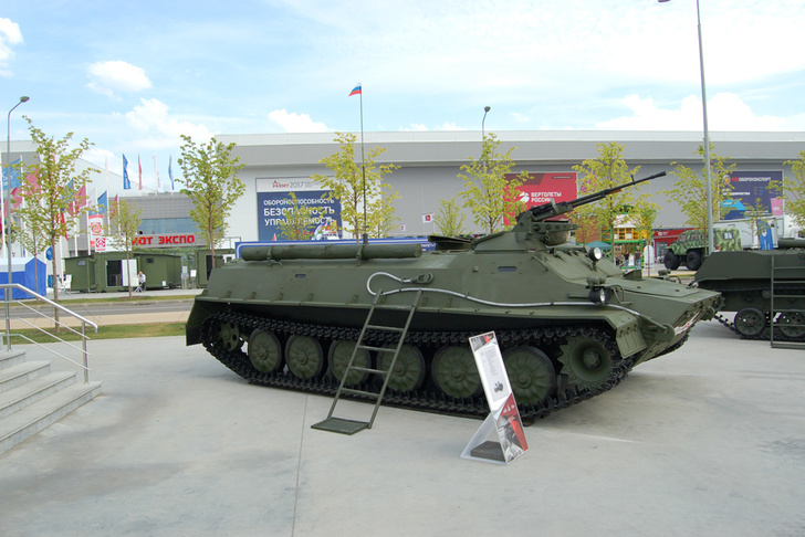 """Российская компания """"Ремдизель""""модернизировала МТ-ЛБ («Мотолыгу»)"""