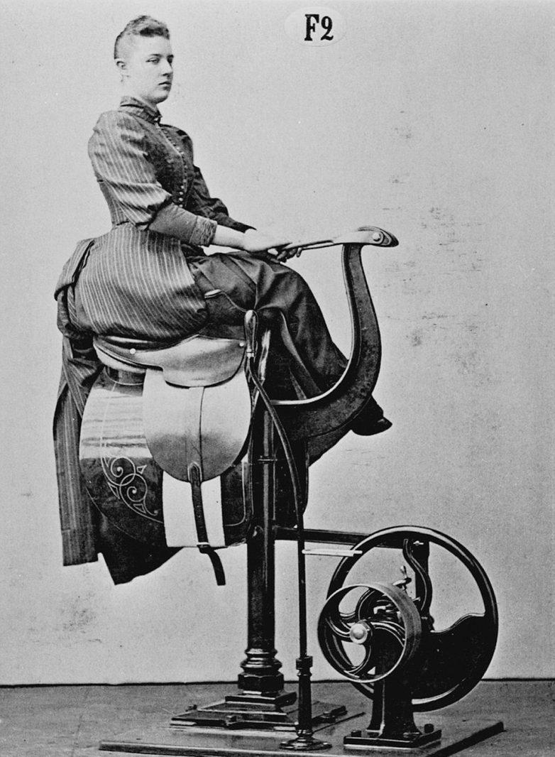 На чём качали торс леди и джентльмены в XIX веке
