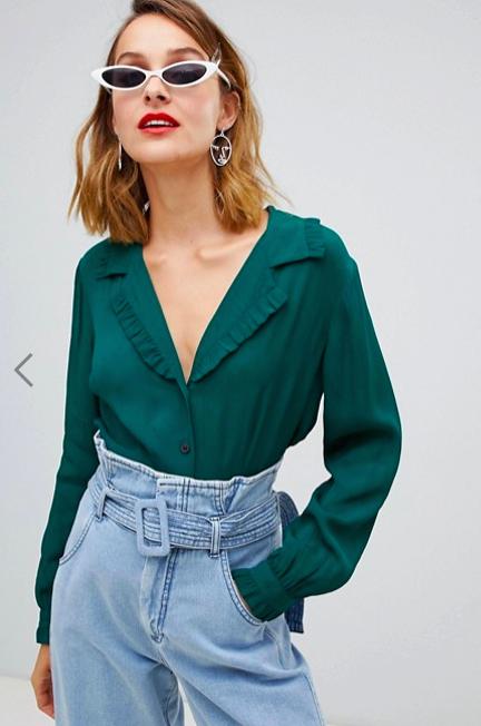 Вместо футболки: модные блуз…