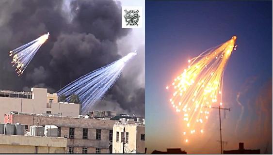 США сжигают фосфором Ракку и…