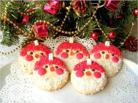 Новогодний десерт «Дед Мороз». Простая идея, которая удивит гостей!