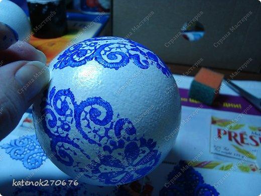 Мастер-класс Новый год Моделирование конструирование Новогодние шарики МК фото 9
