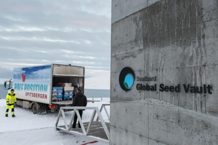 хранилище семян в норвегии