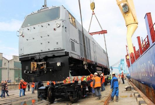 Новые локомотивы Украины не …