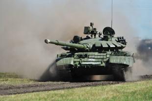 Танковая атака под Нижним Новгородом попала на видео
