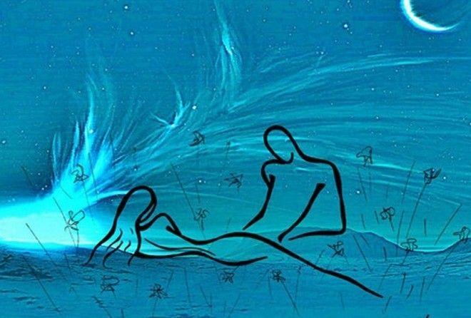 Художница, которая  рисует любовь простыми линиями