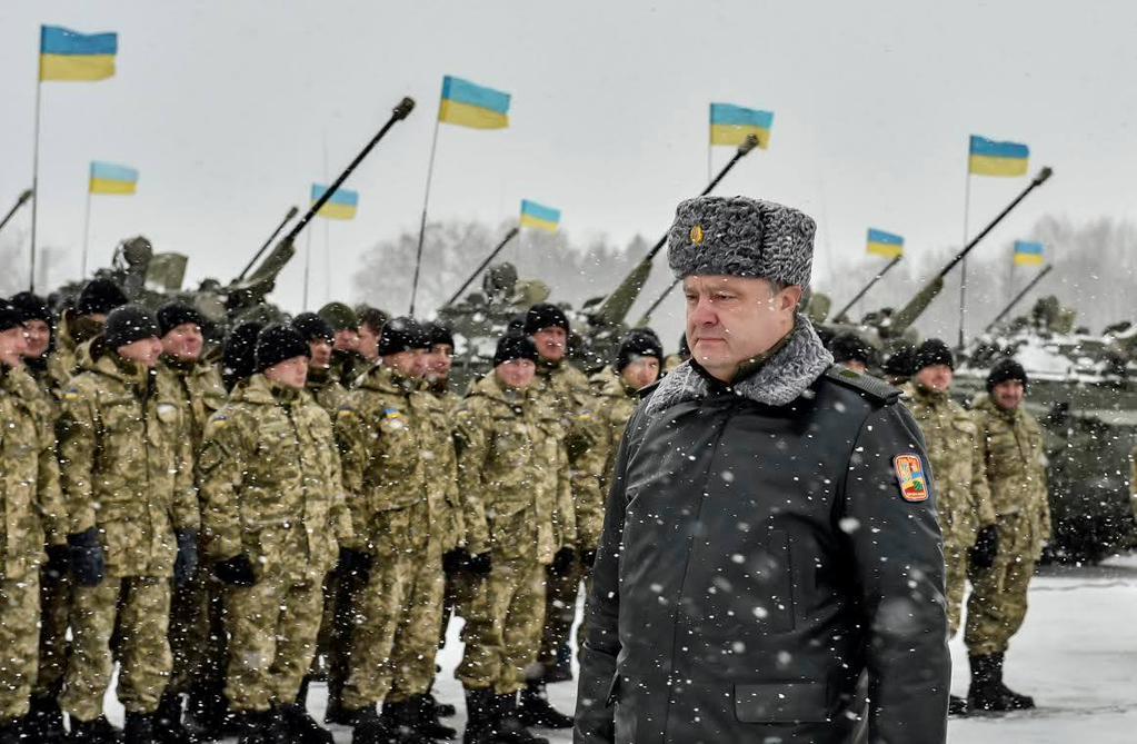 Гуляй, поле: Порошенко принял решение о создании собственной армии