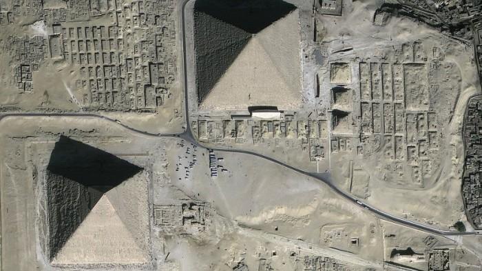 Древние руины из космоса