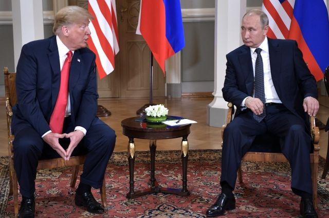 Путин предложил провести встречу с Трампом в Париже
