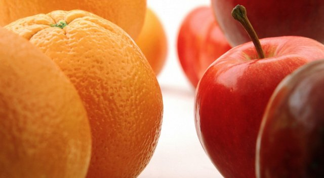 Тренировка для мозга с помощью яблок и апельсинов