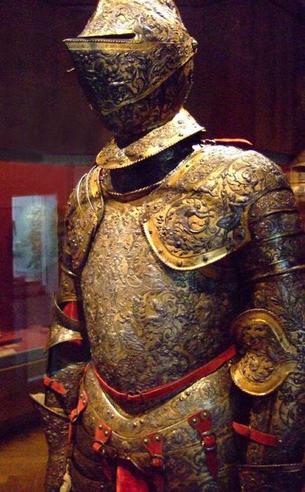 Доспехи Генриха  II, Франция