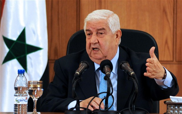 Глава МИД Сирии указал амери…
