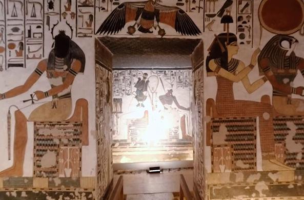 На египетские пирамиды теперь можно посмотреть изнутри