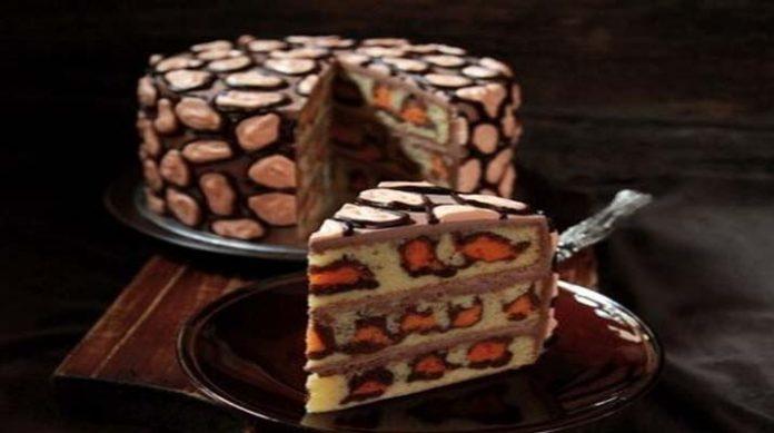 Невероятно красивый и вкусный леопардовый торт модного принта не оставит равнодушными наших прекрасных девушек