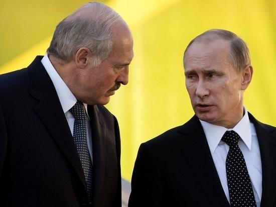 Братский крепкий орешек: Путин приготовился к неприятному разговору с Лукашенко