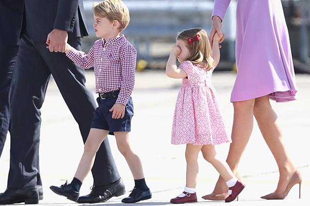Принц Джордж больше не хочет…