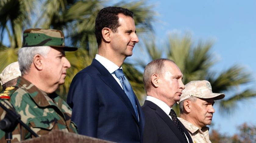 Потому и молчал: Асад мог обидеться на Путина из-за Ил-20