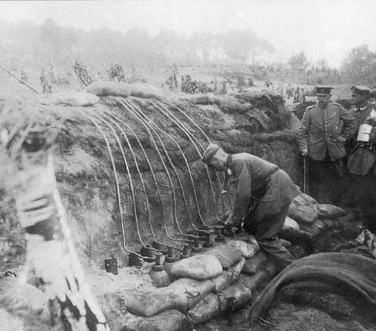 Как немцев мертвецы атаковали