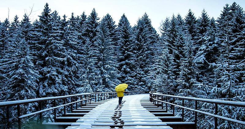 Потрясающие фотографии зимней Европы