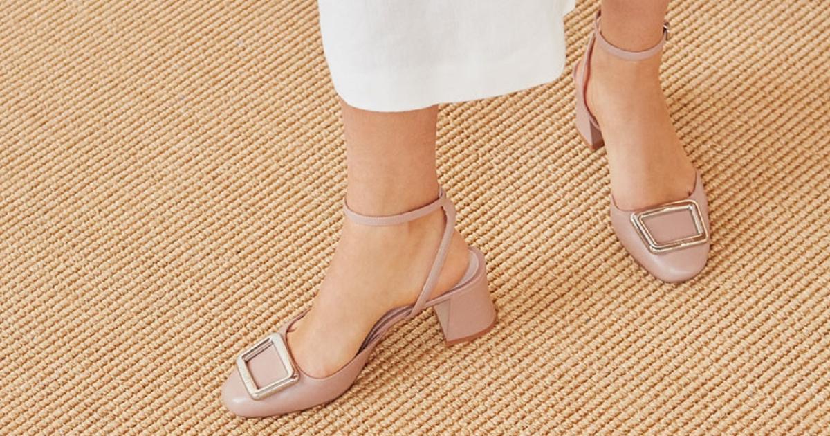 Туфли на низком каблуке для «рабочих лошадок» и не только