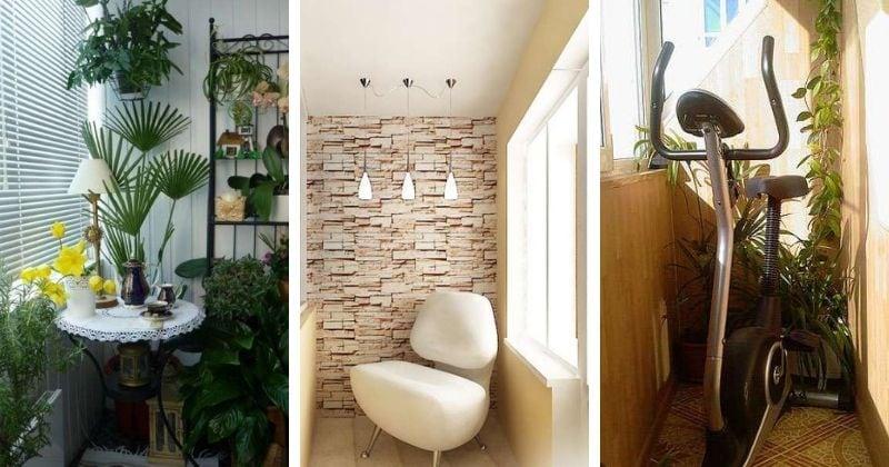 7 необычных способов по уютному обустройству балкона