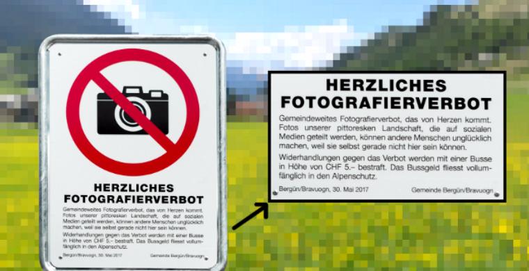 Туристам запретили фотографировать «слишком красивую» деревню в Альпах