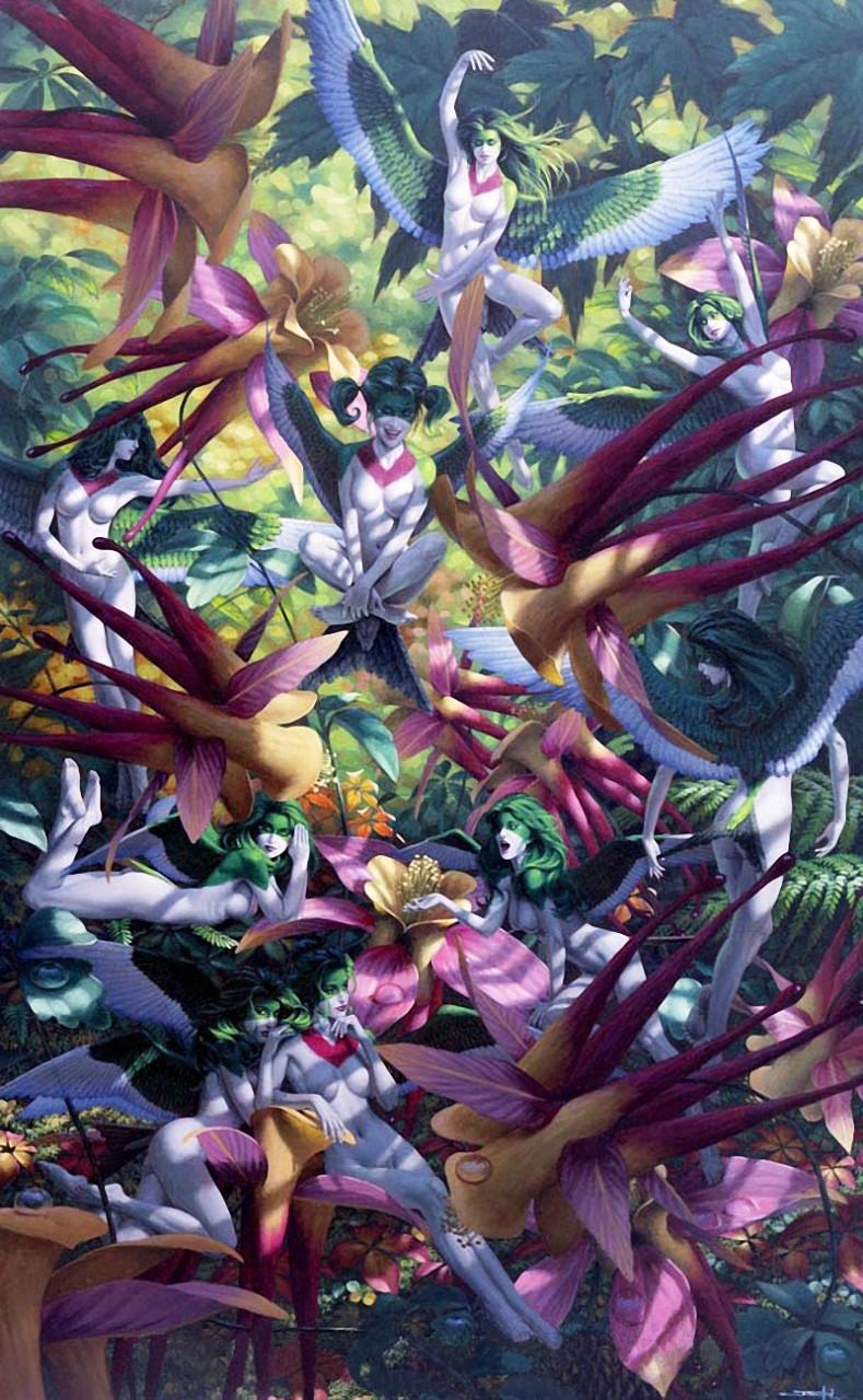 Канадский художник Джонатан Эрл Боузер...