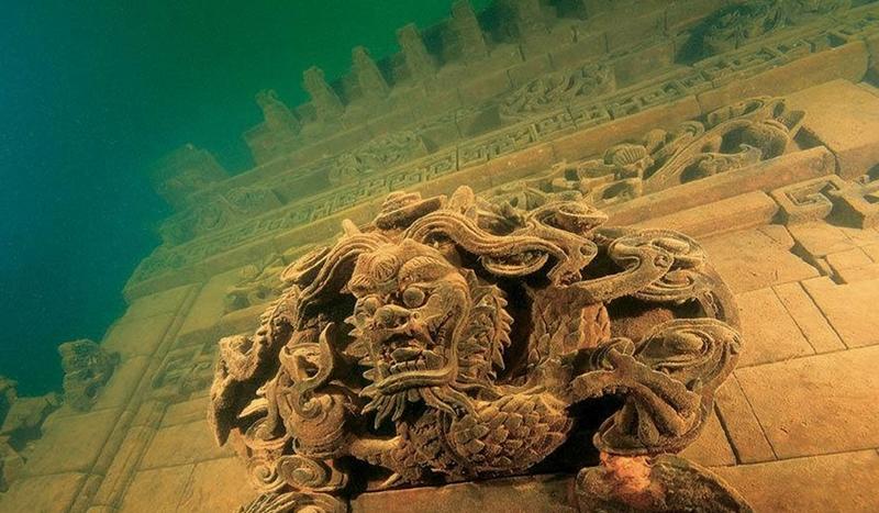 В поисках Атлантиды: топ-5 подводных городов