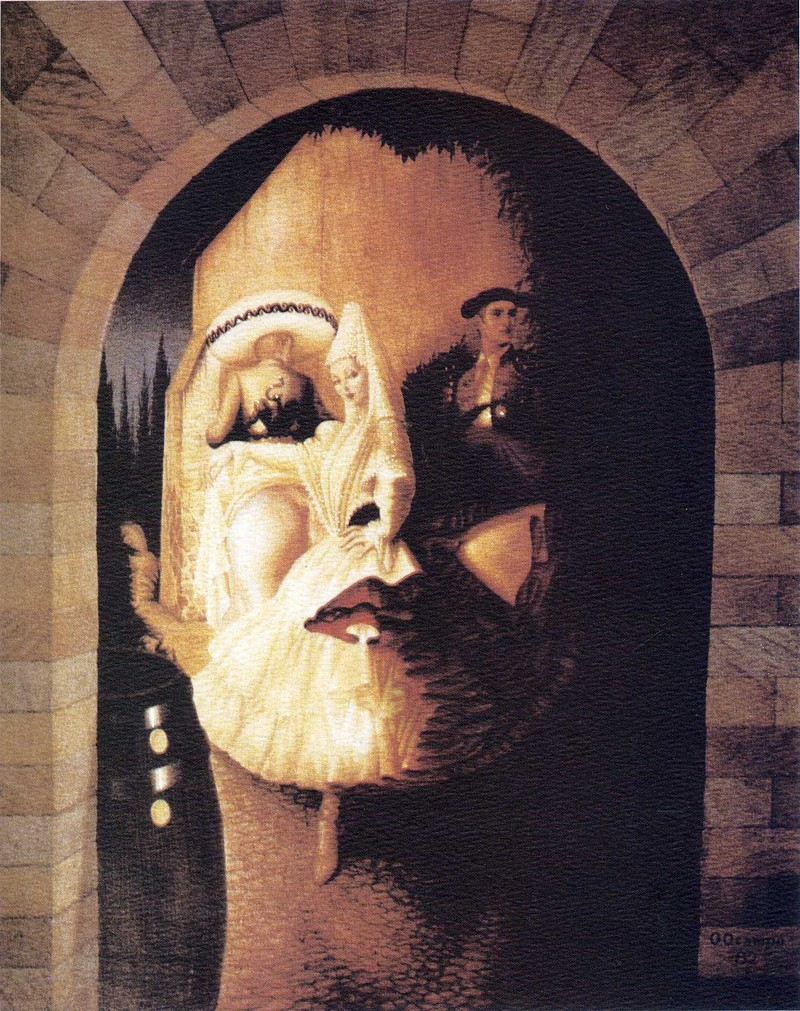 Картины художника Октавио Окампо 17