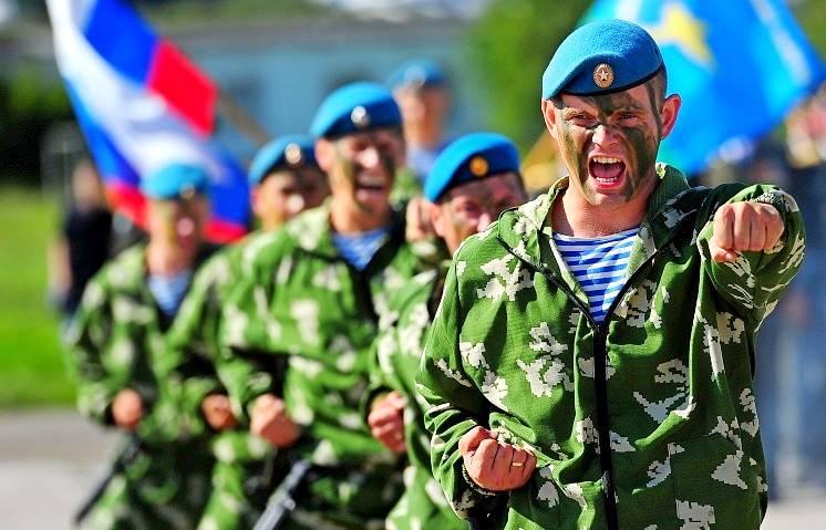 Воздушно-десантные войска РФ: состав и задачи ВДВ в конфликте против НАТО