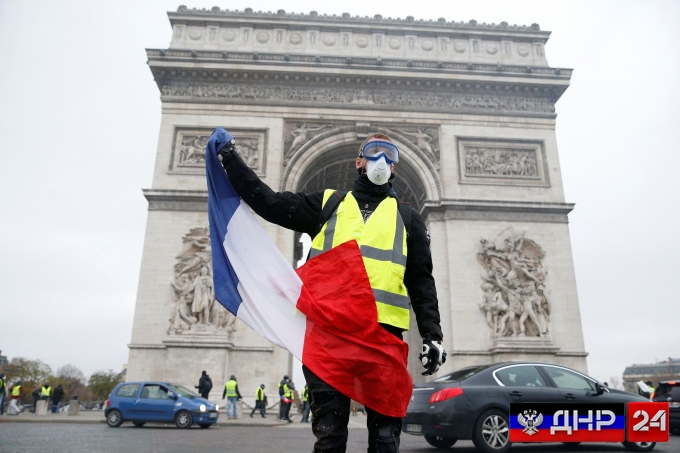 Дождались: СБУ обвинила Россию в причастности к протестам в Париже