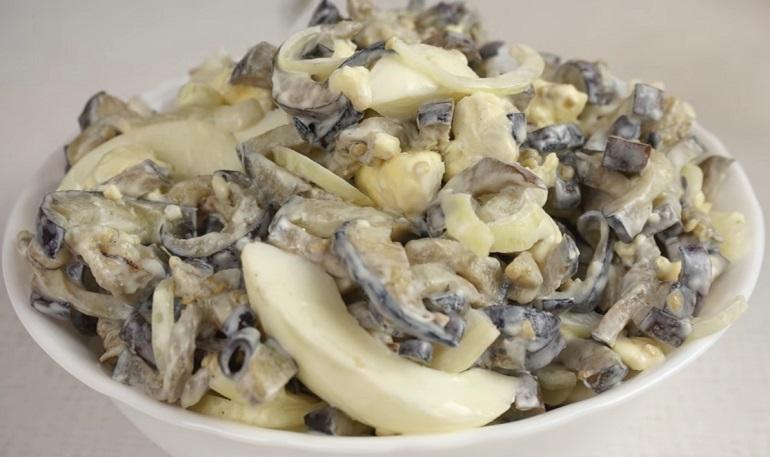 Салат из баклажанов со вкусом грибов: неописуемая вкуснятина