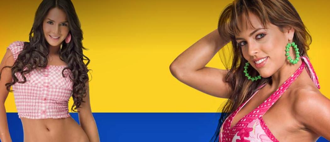 Колумбийские красотки