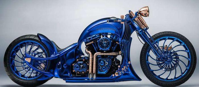 Как выглядит самый дорогой мотоцикл в мире