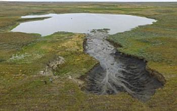 Ученые сообщают, что воронки на Ямале увеличиваются в размерах