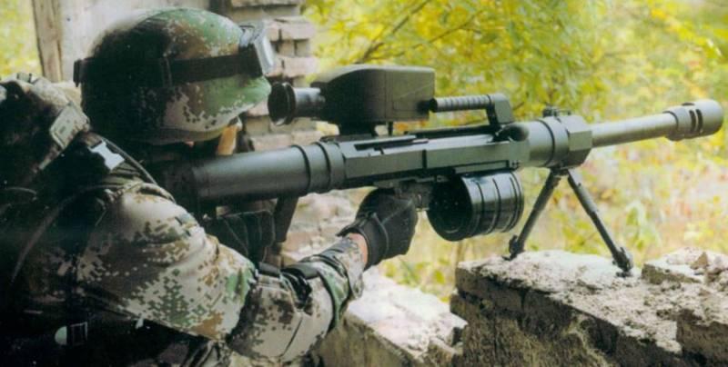 Китайские многозарядные ручные гранатомёты