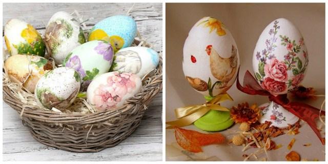 Как выполнить декупаж яиц в домашних условиях