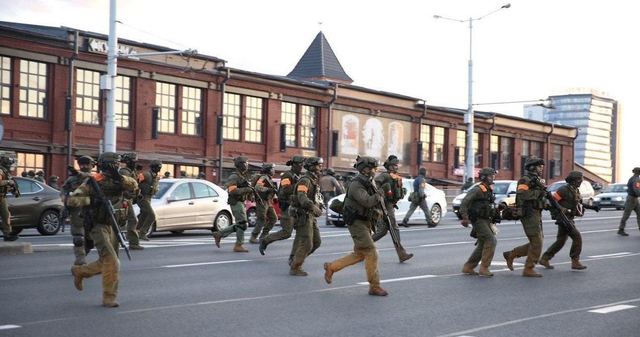Разгонявшие протесты белорусские силовики высказали своё мнение о происходящем