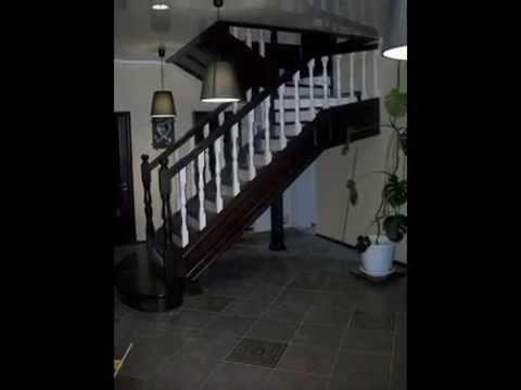 Интерьерная лестница на контрасте венге с белым. Тел.+7(3852) 533-977