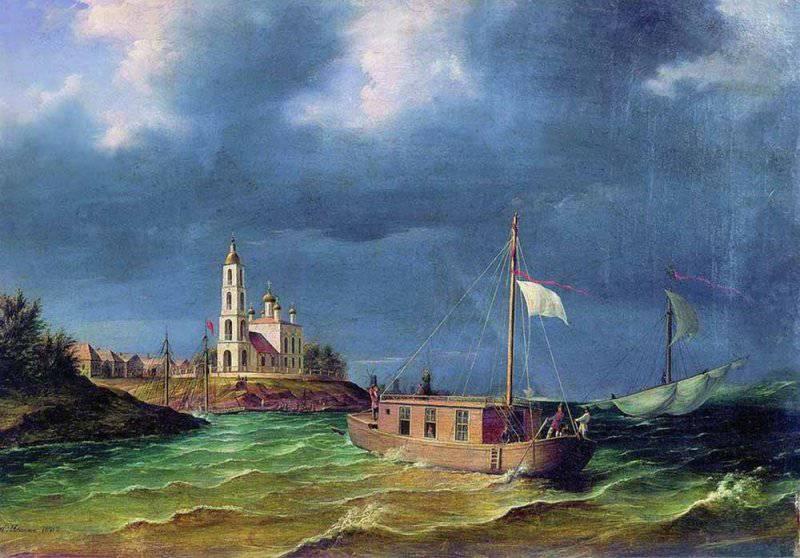 175-летие путешествия братьев Чернецовых по Волге