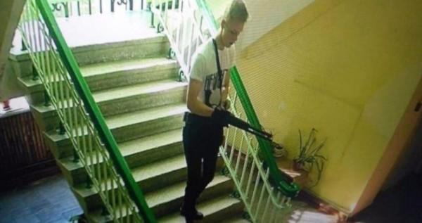 Видео, как Росляков готовилс…