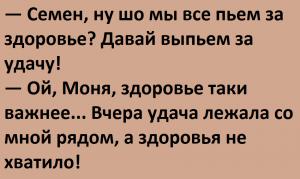 Убойные анекдоты из Одессы. Таки смешно