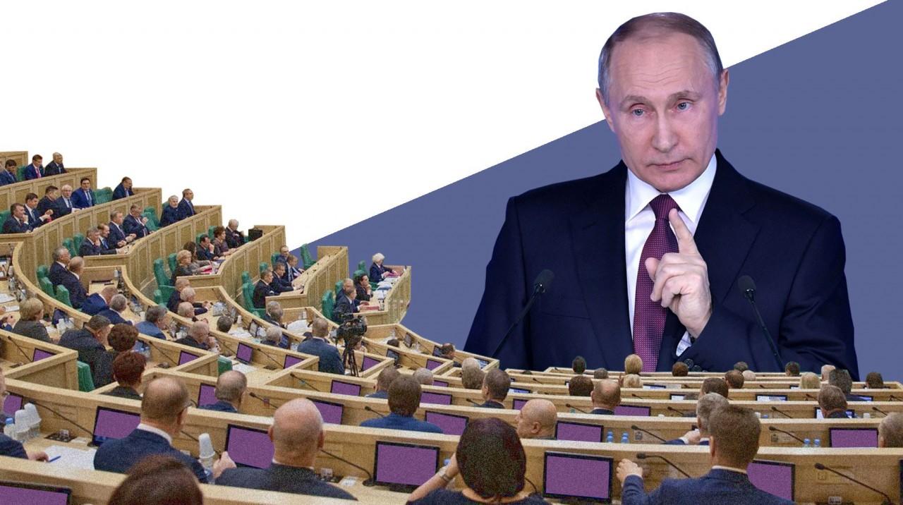 «Бедность и отсутствие роста». Законодатели ждут от президента ответов о новом курсе России